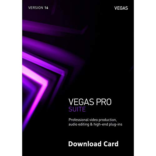 MAGIX Vegas Pro Suite 16 (Download Card) - Professional video & audio...
