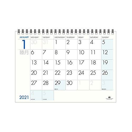 エトランジェディコスタリカ 2021年 カレンダー 卓上 A5 FUTURA 2021年1月始まり 0102-CLT-A-07