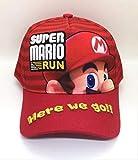 XINFA Super Mario Sombrero Niños de Dibujos Animados Lovely Super Mario Fashion Sun Hat Mario Casual Cosplay Gorra de béisbol Regalos de Fiesta para niños