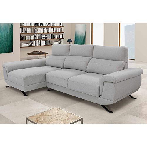 Shiito - Sofá de 3 plazas Modelo DIMAR con chaiselongue a l