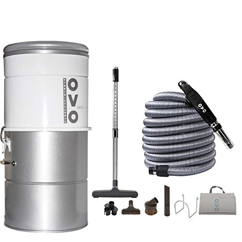 OVO AW Large and Powerful Central Vacuum System