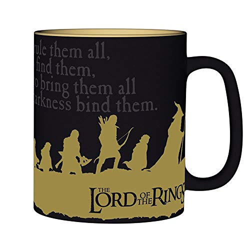 Lord of the Rings - Mug 460 ml - The Companions - A Ring You To Knecht - Gift Box