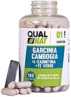 Garcinia Cambogia con L-Carnitina | HCA | Té Verde |