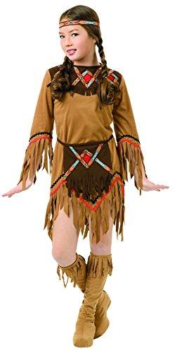 Charades Child's White Dove Native American Girl Costume, Small