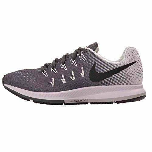 Nike Women's Wmns Air Zoom Pegasus 33, Dark Grey / Black - White, 12 M US