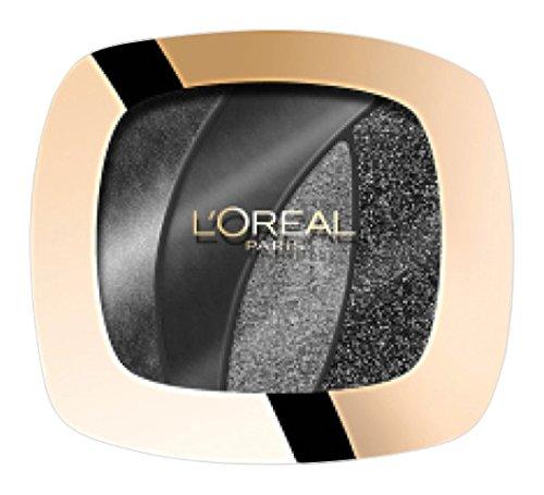 Preisvergleich Produktbild L 'Oréal Paris Color Riche Quad Lidschatten Palette Smoky Eyes S13 Magnetic black