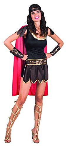 Boland 83807 – Adultes Costume gladiatorin Marron
