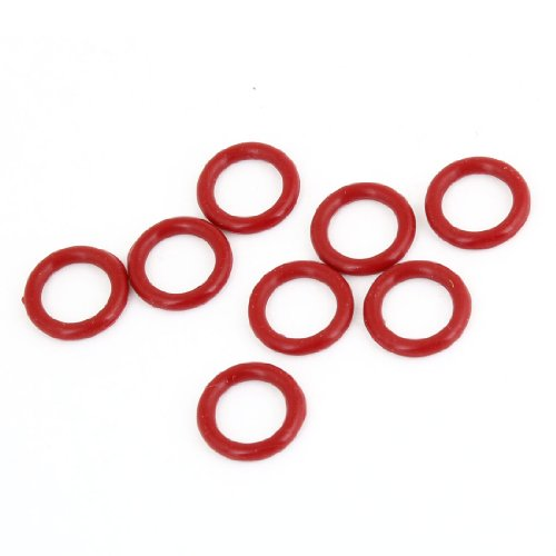 8pcs 15mm Außen Dia 2,5mm Dicke Industrial Rubber O-Ringe Dichtungen de