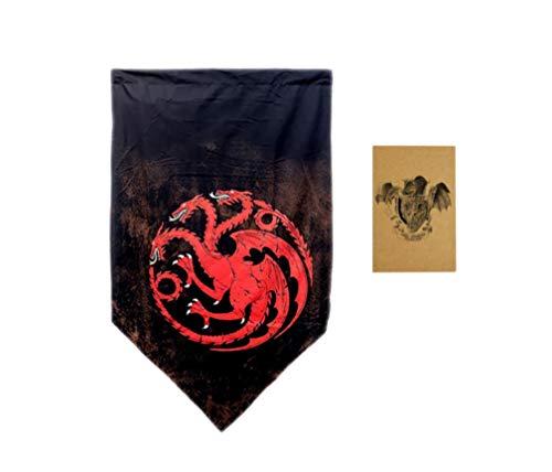 ZCWOLTM Geburtstagsparty Poster Spiel der Throne Flagge Game of Throne Banner