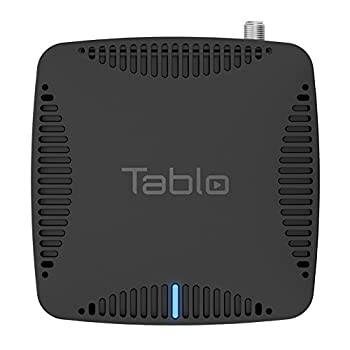 Tablo Dual LITE [TDNS2B-01-CN] Over-The-Air [OTA] Digital Video Recorder [DVR] for Cord Cutters - with WiFi Live TV Streaming & Automatic Commercial Skip Black
