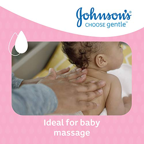 JOHNSON'S Baby Oil 500 ml, Leaves Skin Soft and Smooth, Ideal for Delicate Skin