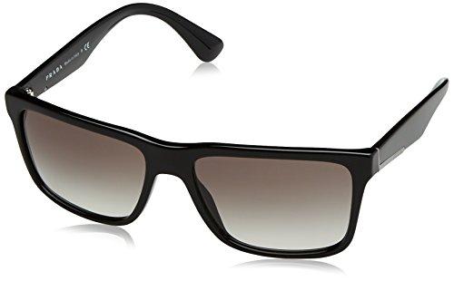 Prada 0PR19SS 1AB0A7 59 gafas de sol, Negro (Black/Grey), Unisex-Adulto