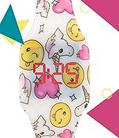 Orologio digitale a LED KIDDUS per bambini, ragazze, adulti. Cinturino comodo in morbido silicone. Batteria giapponese lunga durata. Facilità di lettura e apprendimento dell'ora. #4