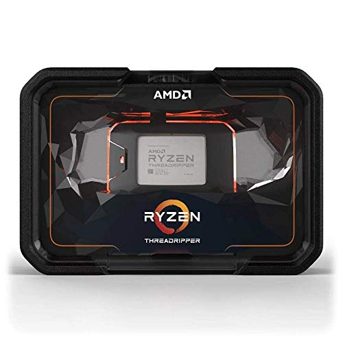 AMD YD297XAZAFWOF Ryzen Threadripper 2970WX WOF TR4 24 Core 3,0 GHz 64 MB CPU, Schwarz