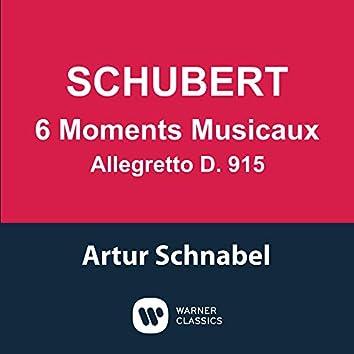 Schubert: 6 Moments musicaux, D. 780 & Allegretto, D. 915