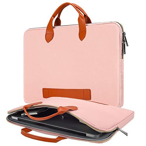 Laptop-Umhängetasche für HP Envy 17.3, Lenovo 330 L340 17.3, Dell Inspiron 17/Dell G3 G7 17.3, ASUS TUF 17.3, MSI GS75 GL75 GF75 43,9 cm (17,3 Zoll), Pink