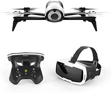 Amazon.com: Parrot BeBop 2 Drone with Skycontroller 2 JoyStick & FPV Cockpit Glasses (White) : Toys & Games