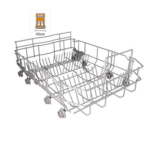DREHFLEX - KORB45 - Geschirrkorb/Korb UNTEN für diverse Spülmaschinen aus dem Hause Bosch/Siemens/Neff/Constructa - passt für Teile-Nr. 00773587/773587