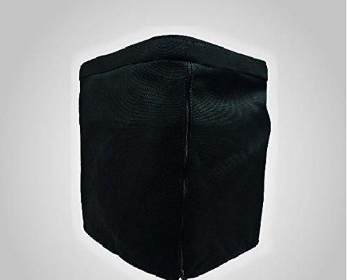 Plastique noir cache pour Bi de pot 30 de Tabouret avec coussin et toilettes