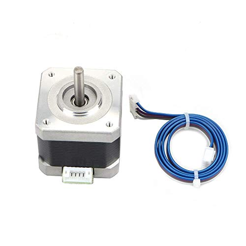 42 Stepper Motor 42-40 Nema 17 Stepper Motor MS17HD2P420A-01 2.0A 2 Phase 1.8 Degree 2.74 V DC with Cable for Extruder CNC 3D Printing Accessories