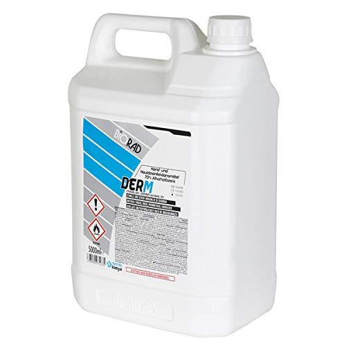 BIODERM 5 Liter Händedesinfektionsmittel Wirksam gegen Pilze, Viren und Bakterien Desinfektionsmittel Hand