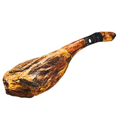 EX EUROXANTY Iberian Ham Cushion | Decorative Ham | Toy Ham Leg | Plush Ham Leg | Ham Kitchen | 26 cm