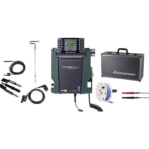 Gossen Metrawatt M501C Installationstester-Set kalibriert (DAkkS-akkreditiertes Labor)