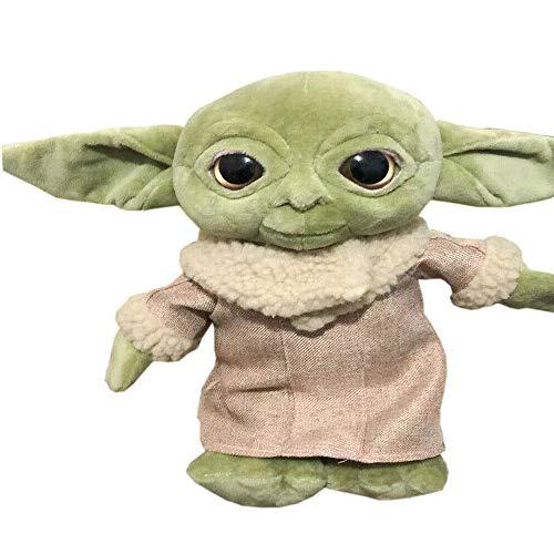 YUEFF Baby Yoda The mandalorien Plüschtiere Weiche Stoffpuppen, Stofftier Babyspielzeug Sammlerpuppen
