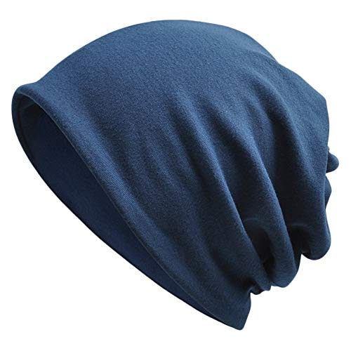 Goddness Bar Bonnet de Sommeil élégant Beanie Hat Scarf Casquette Polyvalente pour Le Plein air, Le Cyclisme, Les Cheveux crépus (A25)