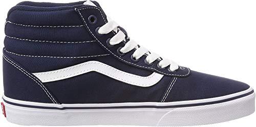 Vans Herren Ward Hi Canvas Hohe Sneaker, Blau (Dress Blues/White Jy3), 44.5 EU