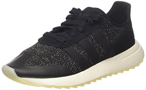 adidas Damen FLB Sneaker, schwarzweiß, 38 EU