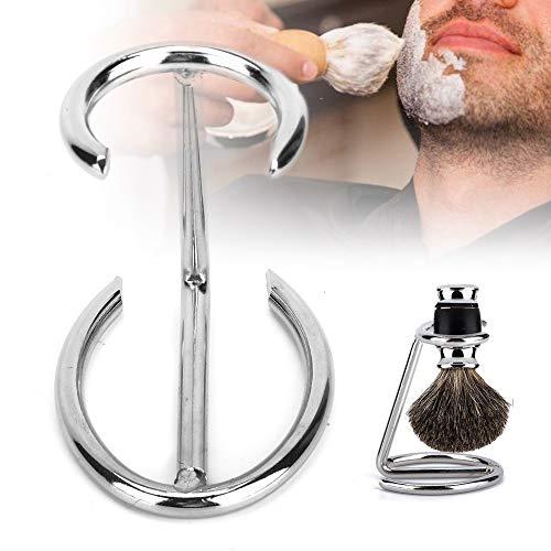 Support de brosse de rasage, support d'outil de rasoir en acier inoxydable pour hommes
