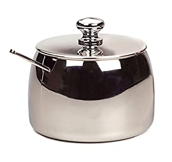 RSVP Endurance 18/8 Stainless Steel Sugar Bowl