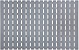Yolife Bath Mat Non Slip Shower Mat Eco-Friendly Rapid Drainage for Bathroom Kitchen Floor with Strong TPE Suction Cups 15.7'x24.8' (A-Grey)