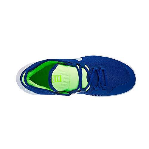 Nike Herren AIR MAX Wildcard Cly Tennisschuhe, Mehrfarbig (Indigo Force/Half Blue-White-Volt Glow 447), 43 EU
