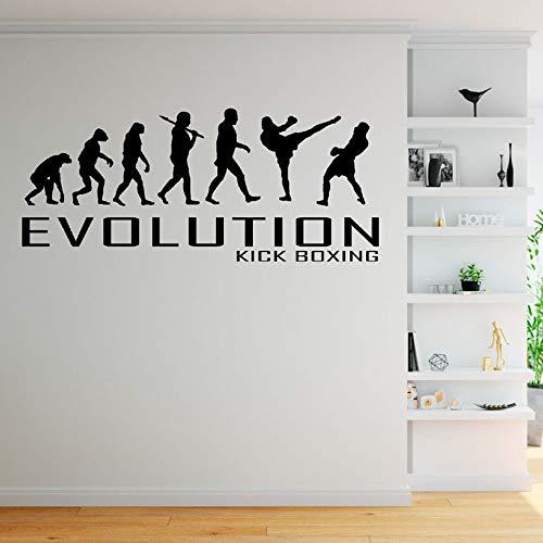 mlpnko Kick Boxing Etiqueta de la Pared decoración del hogar Sala de Estar niño Dormitorio Pared calcomanía Vinilo casa decoración 42X96cm