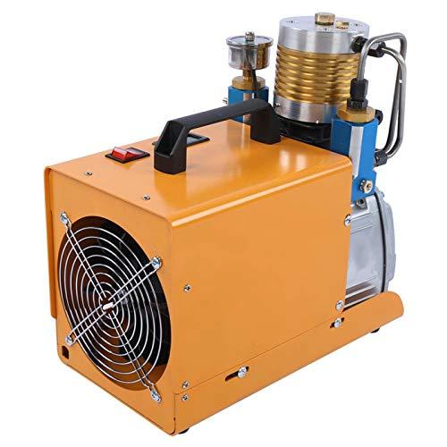 Bomba de neumáticos, Inflador de neumáticos, Compresores de aire estacionarios eléctricos de alta presión, 30MPa 4500PSI para bicicleta de coche(220v EU, pink)