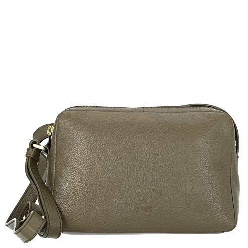 BREE Cary 10 Cross Shoulder Damentasche M 23 cm olive