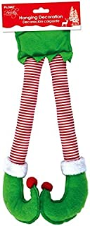 Holiday Essentials Christmas Hanging Elf Legs Decorations by FLOMO