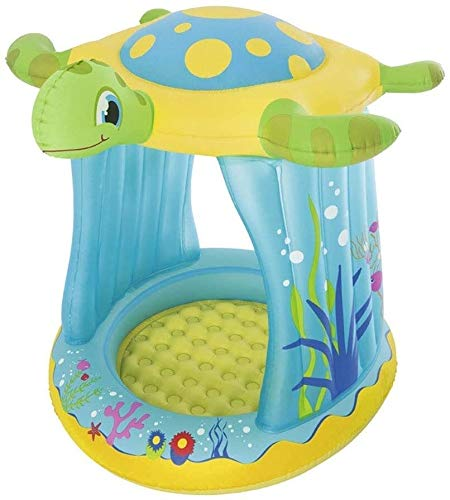 RTUHRJLXJ Summer Fashion Fold Swimming Pool, Children's, Children's Pool, Inflatable Baby Pool Frog Courtyard Terrace 109 96 104 cm