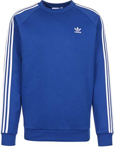 adidas 3-Rayas Crew Royblu Camisa de Entrenamiento, Hombre, Equipo Azul Real, L