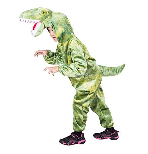 Dino-Kostüm T-Rex F122 Gr. 92-98, für Babies, Klein-Kinder, Tyrannosaurus Dinosaurier-Kostüme Drache-n Fasching Karneval, Kleinkinder-Karnevalskostüme, Kinder-Faschingskostüme, Geburtstags-Geschenk