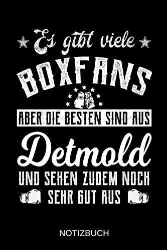 Es gibt viele Boxfans aber die besten sind aus Detmold und sehen zudem noch sehr gut aus: A5 Notizbuch | Liniert 120 Seiten | Geschenk/Geschenkidee ... | Ostern | Vatertag | Muttertag | Namenstag