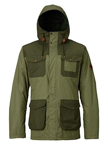 Burton Herren Match Jacket Jacke, Olive Branch/Forest Night, L