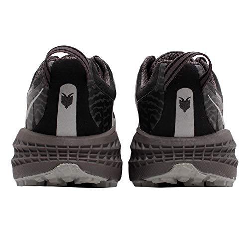 HOKA ONE ONE Mens Speedgoat 3 Waterproof Black/Drizzle Running Shoe - 11