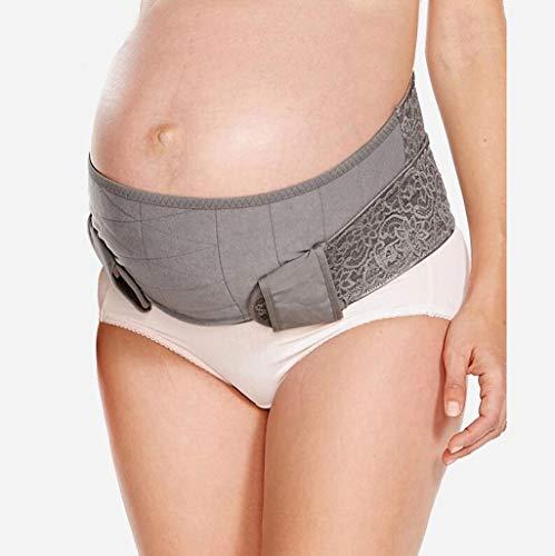 Cinturón para Mujeres Embarazadas Cintura Hidratante Transpirable El Estiramiento del Estómago Alivia La Sensación De Caída del Vientre Reduce El Dolor De Espalda (Tamaño : Metro) ⭐