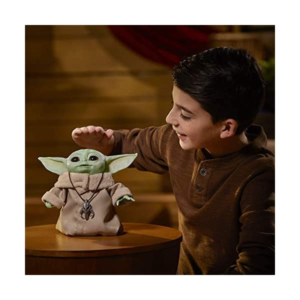 Star Wars The Child Animatronic Edition 7.2-Inch-Tall Toy by Hasbro with Over 25 Sound and Motion Combinations, Toys for Kids Ages 4 and Up 4
