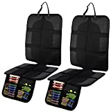 Ohuhu 2-Pack Car Seat Protector with Thickest Padding for Baby and Pet, Durable, Waterproof 600D Fabric...