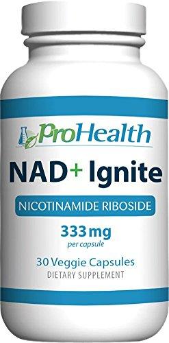 NAD+ Ignite NIAGEN - 333 mg Nicotinamide Riboside (30 Veggie Capsules, 333 mg per Capsule). by ProHealth