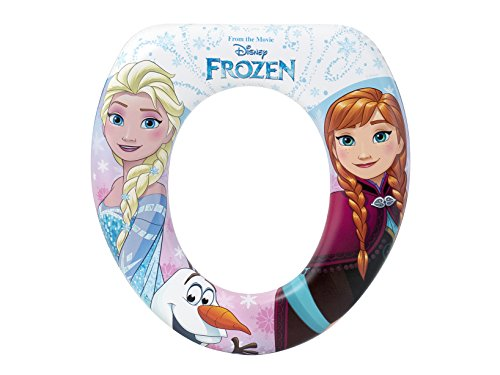 Disney 8007 LULABI Riduttore WC Soft Frozen New Plastica e PVC Made in Italy, Multicolore